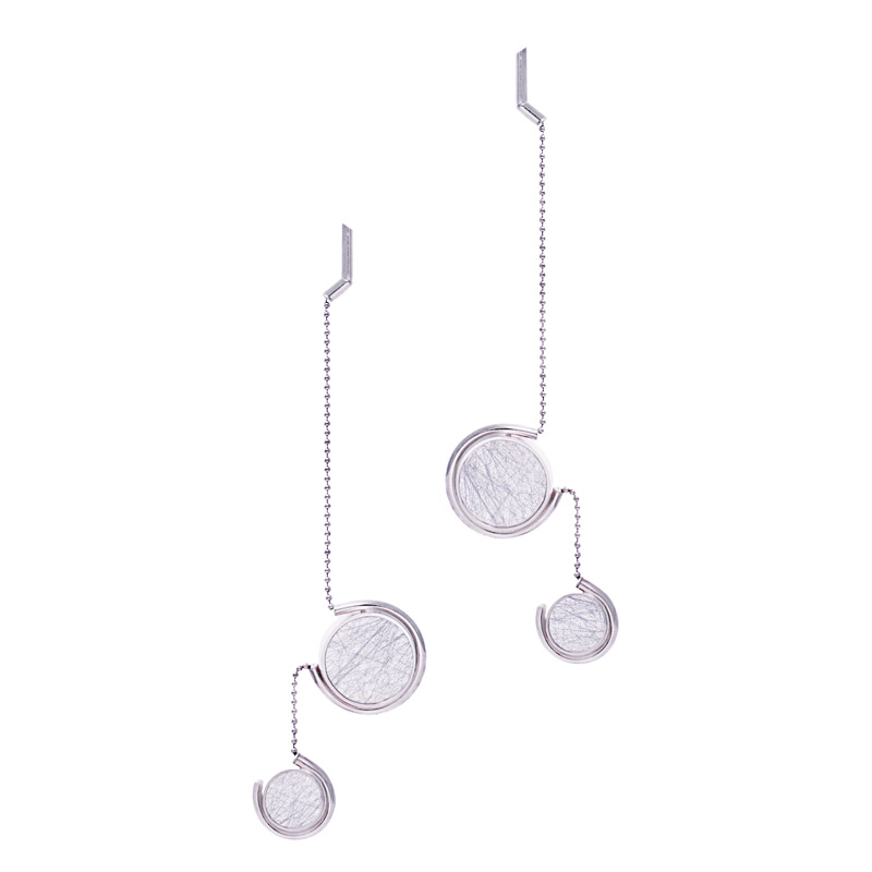 Patricia-Wong-The-Rose-Tint-tinted-earrings-III-sterling-silver-silver-lace