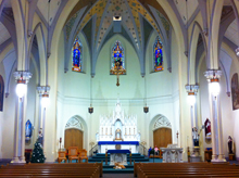 """The Pink Church"" in Pittsfield has beautiful custom church sound."