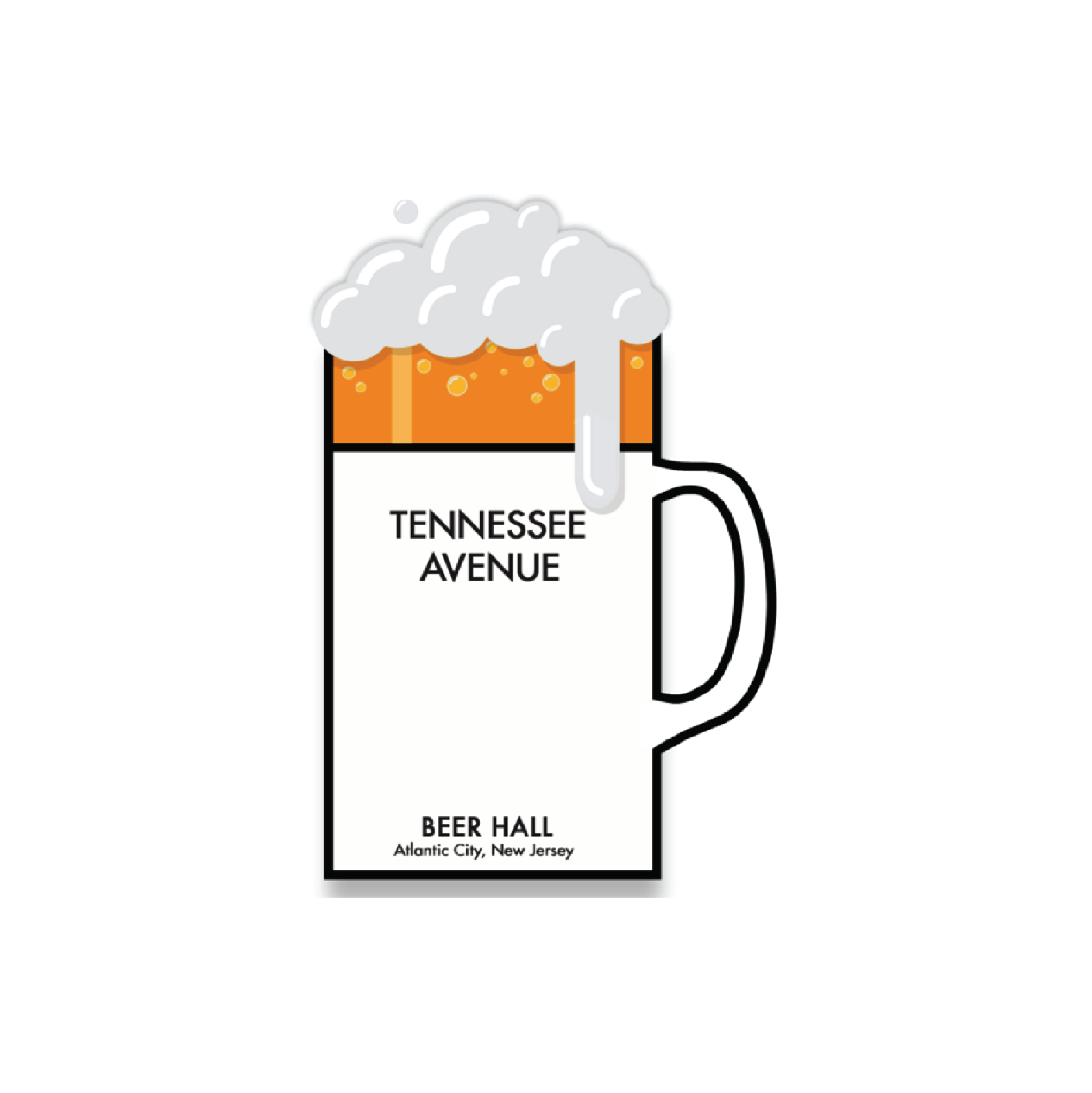 Tennessee Avenue Beer Hall  NOW OPEN  133 S. Tennessee Ave Atlantic City, NJ