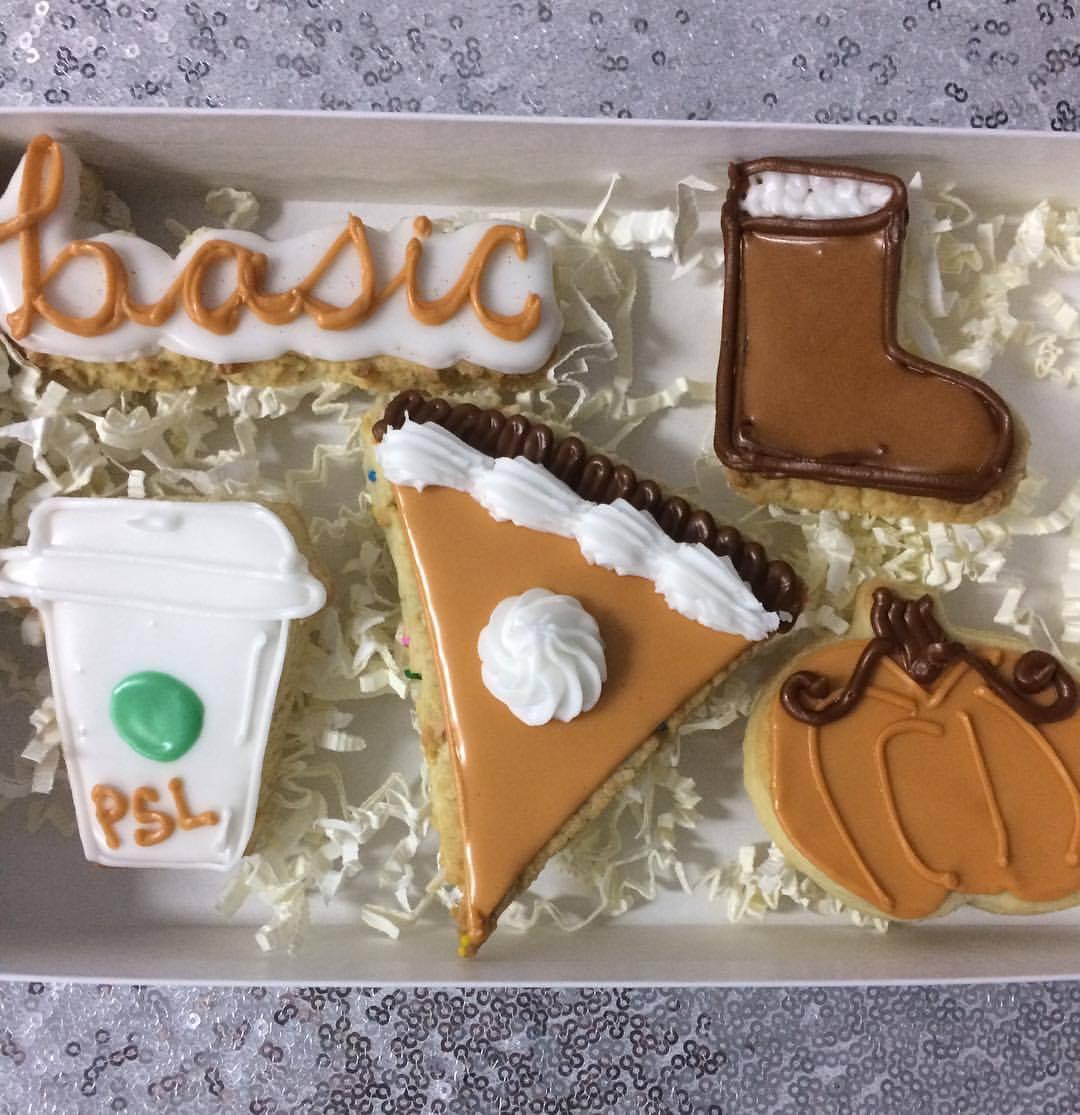 Hand-iced Designer Sugar Cookies