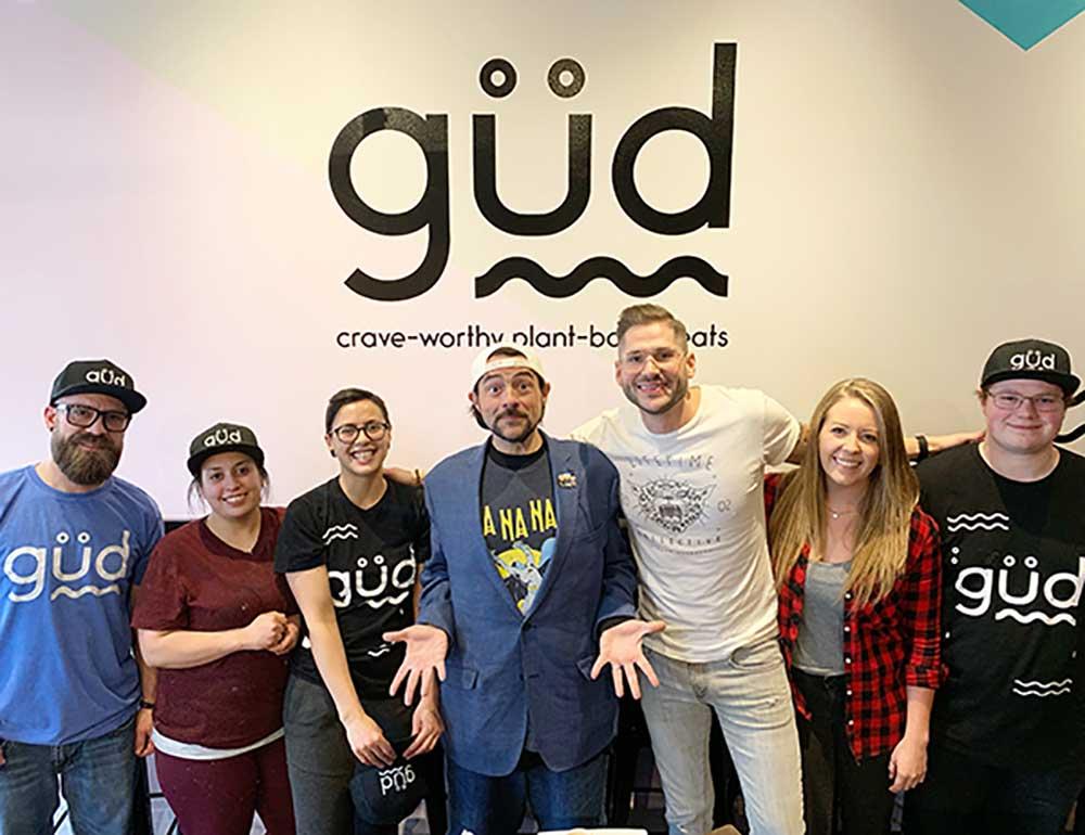 The güd team: amazing people making incredible vegan food.