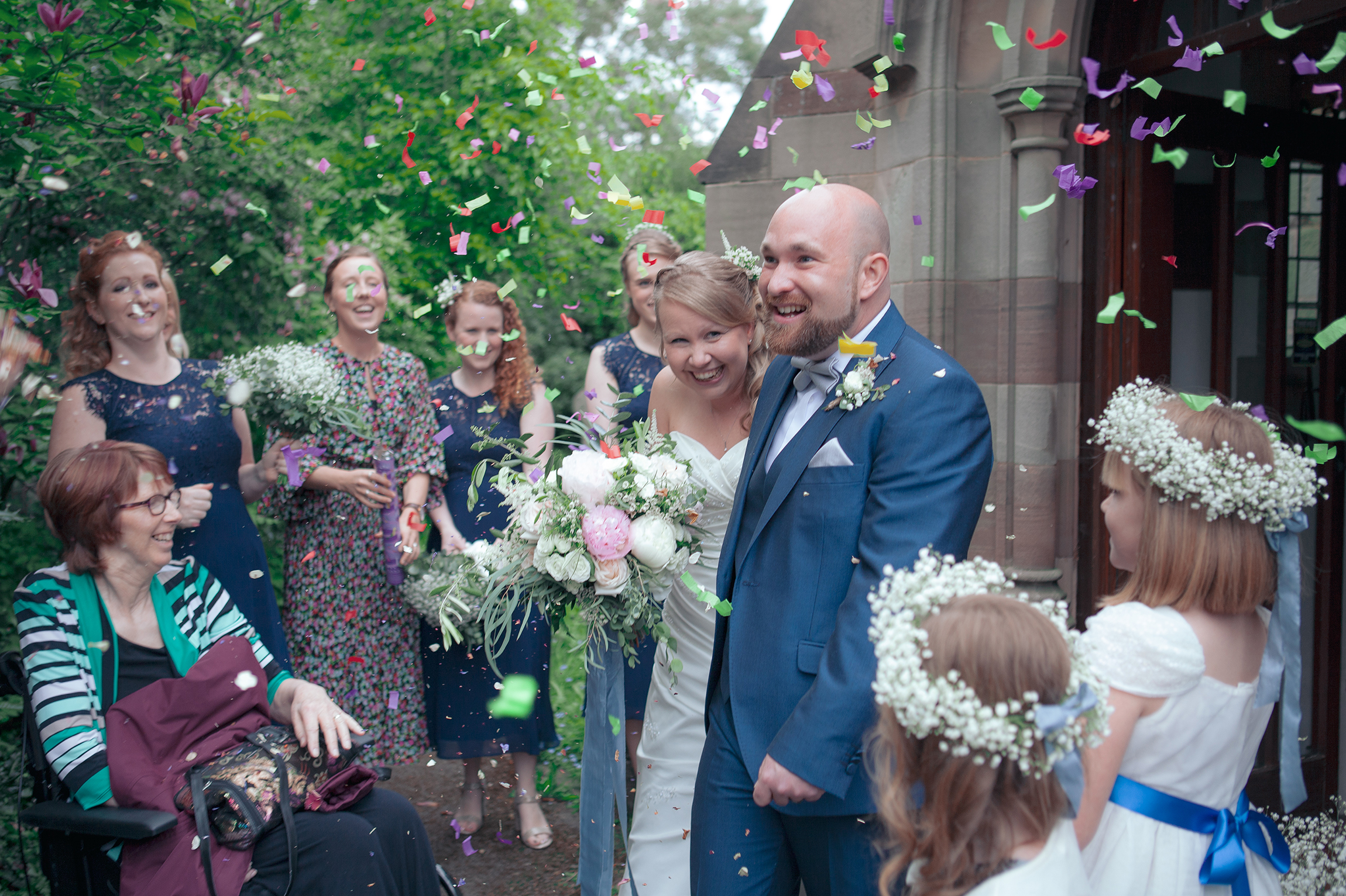 """Excellent candid shots of the day were achieved by Luke blending in with our guests who also found him very professional and approachable. Would certainly recommend Luke and his services. Perfect day and perfect photos! We are so very happy to have chosen Luke."""