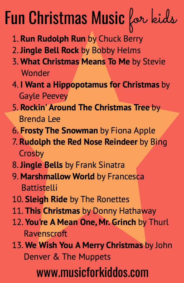 Fun Christmas Music For Kids