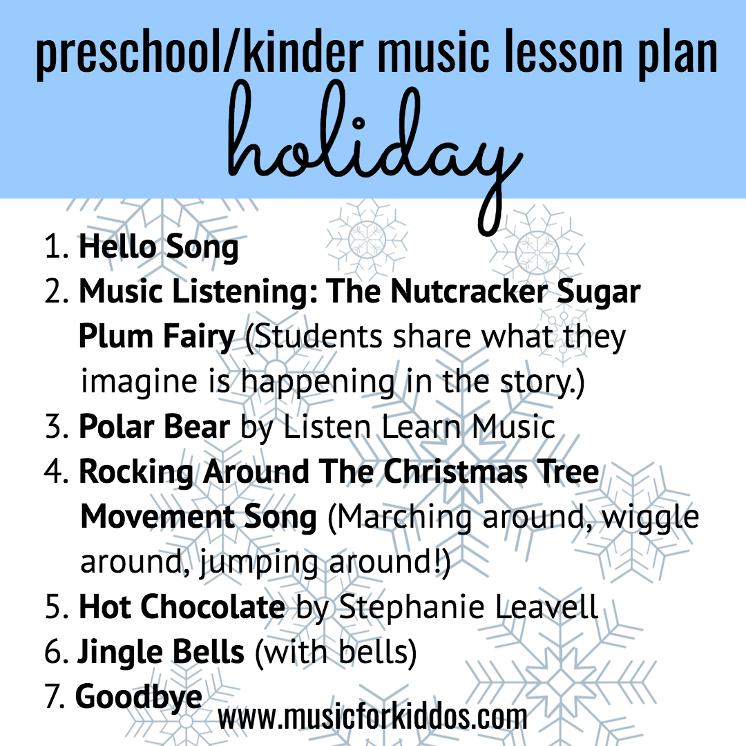 holiday lesson plan