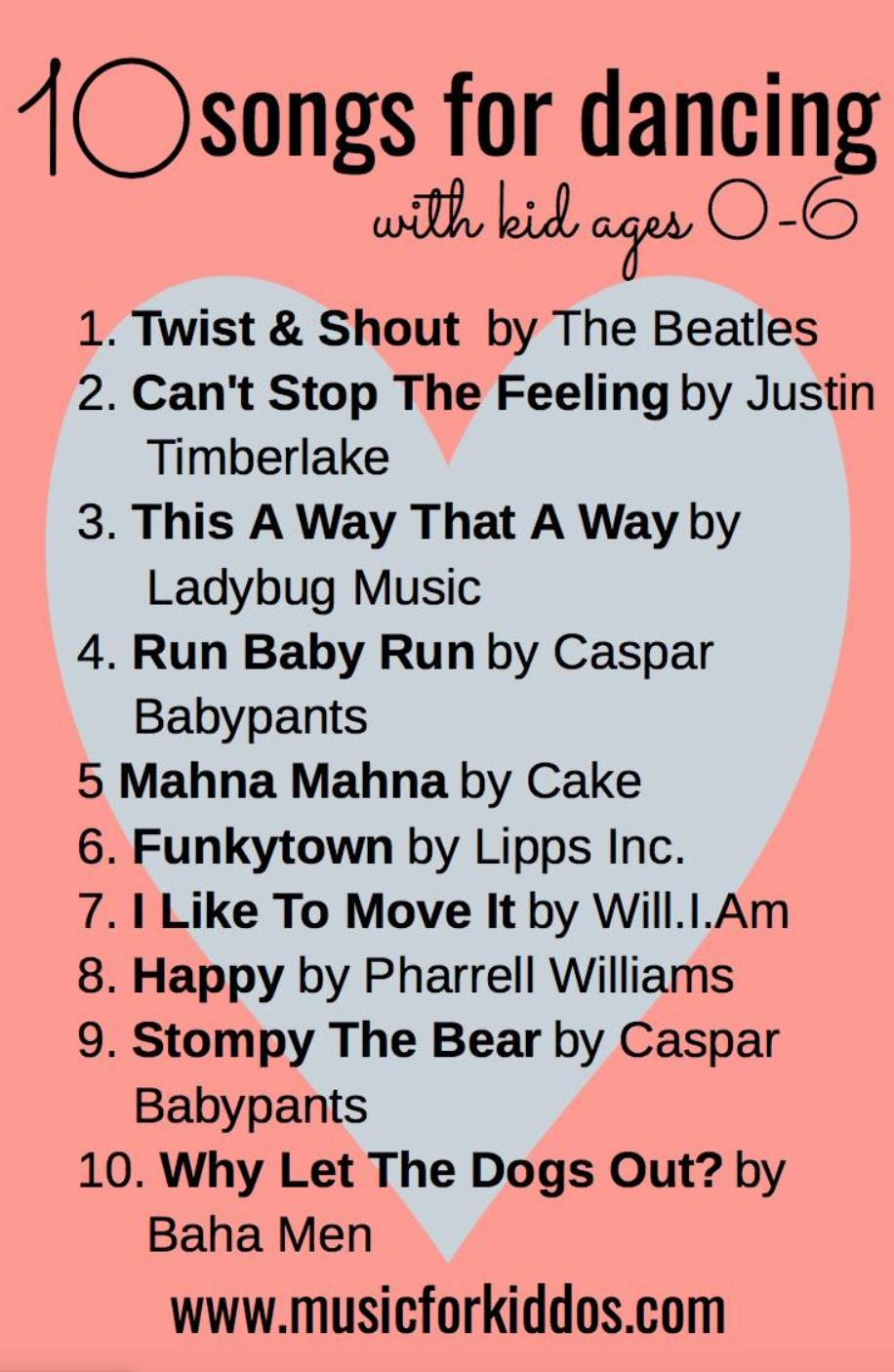 10 Songs for Dancing