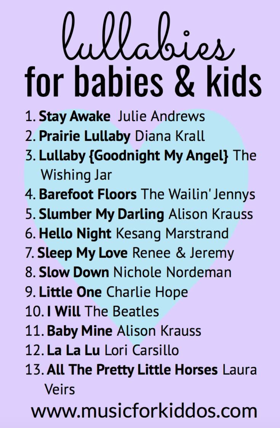 Lullabies for Babies & Kids