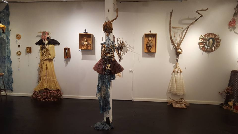 picture by Kathy Clark at Delurk Gallery...excerpt from Saints of All Things Discarded by Zap McConnell and Liz Simmons