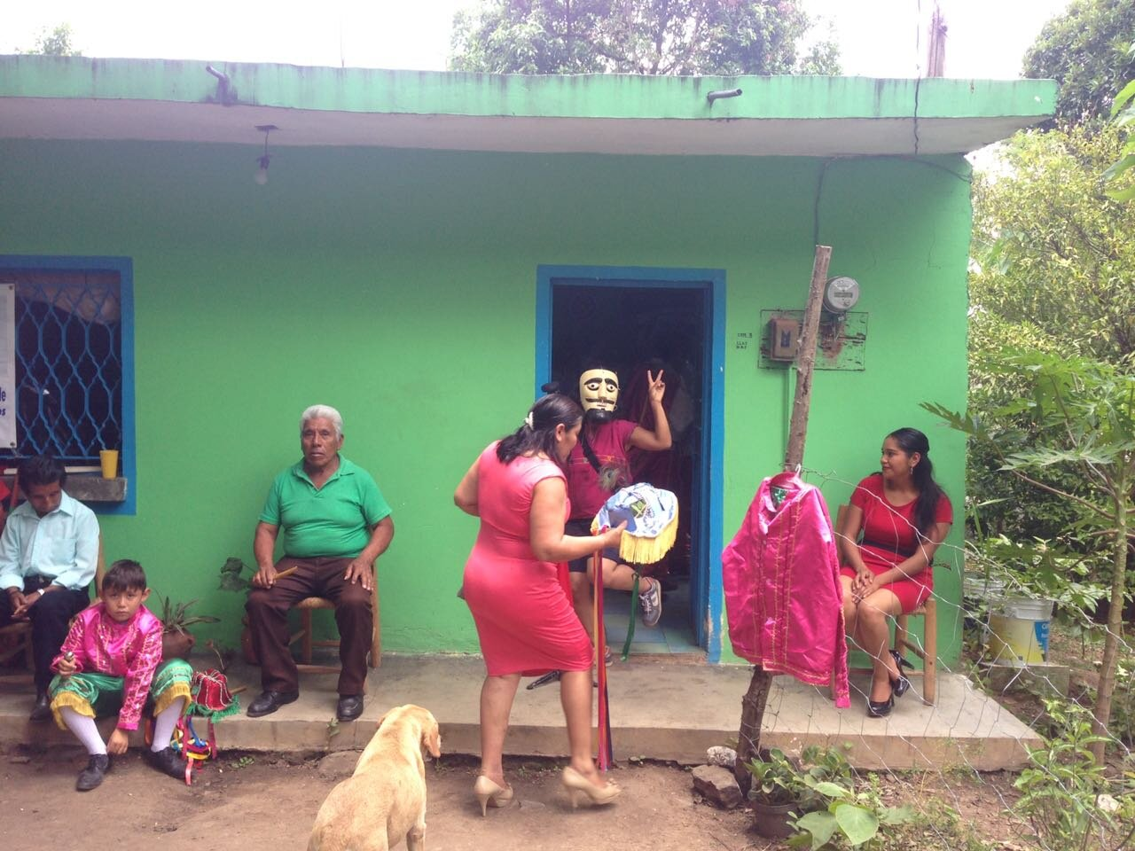 the women's center who sponsored our collaboration with the Chiltoyak community