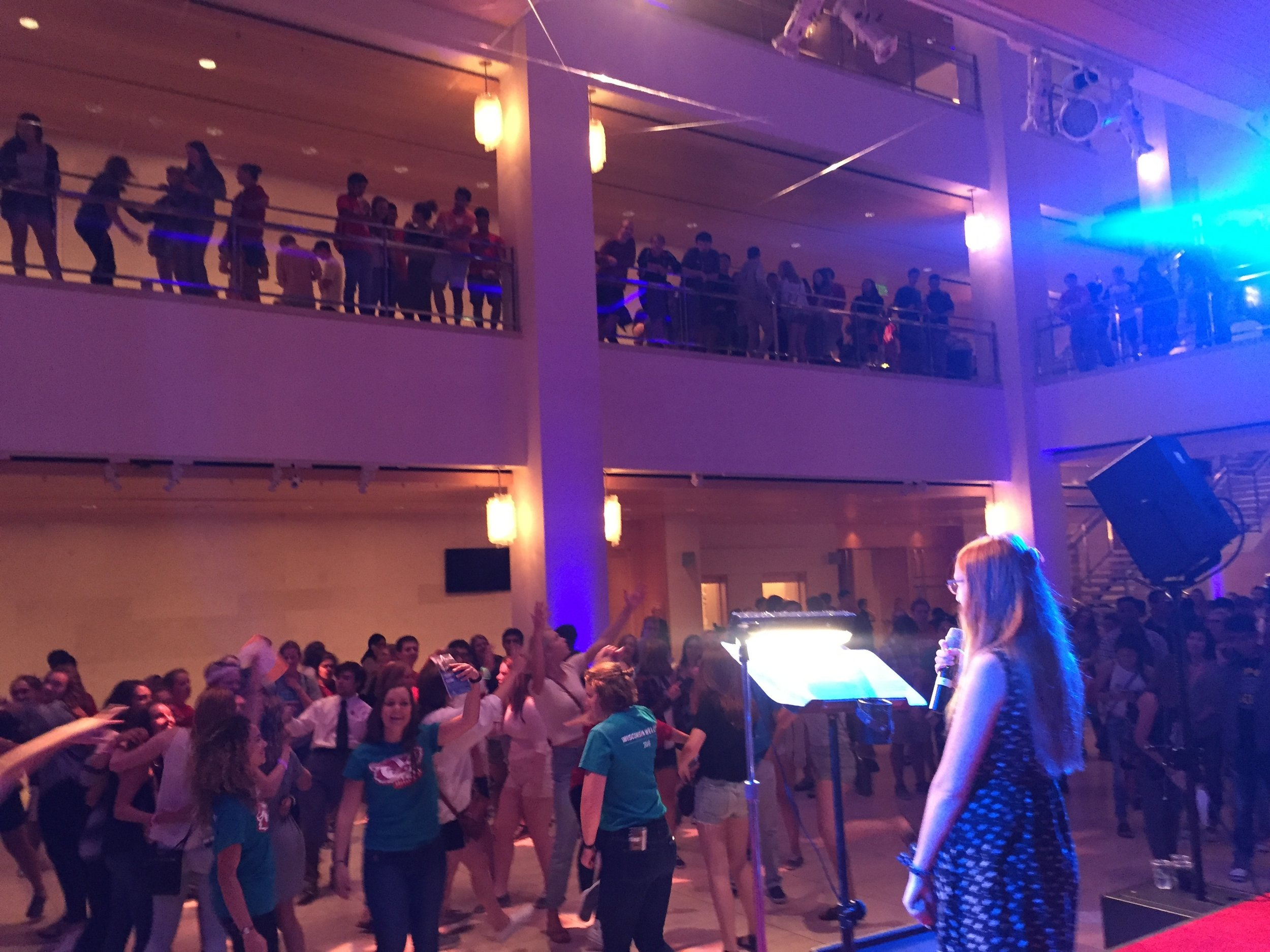 Live Band Karaoke. University of Wisconsin-Madison. Class of 2020.