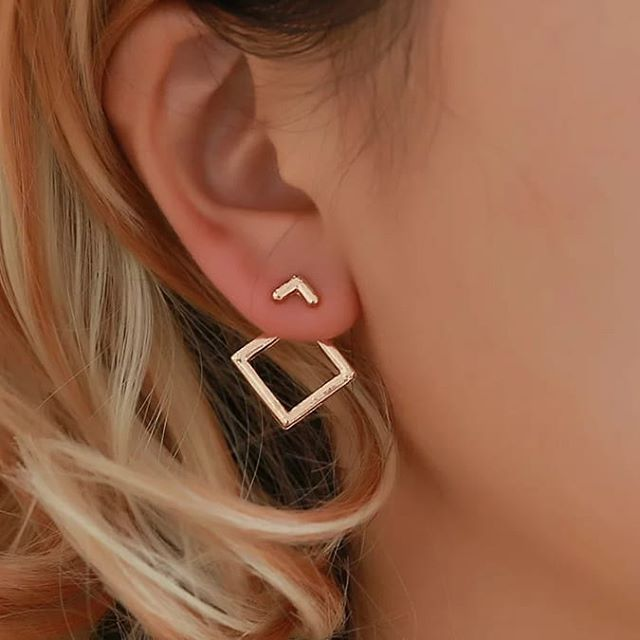 These gorgeous and unique geometric shaped ear jackets are on the way to @shopdowntown10, and they will go for the introductory price of only $8! Click the email button on our profile page, to reserve yours. You don't have to put any money down, but a pair will be saved for you when they get here, and we will send you notice! It's easy!