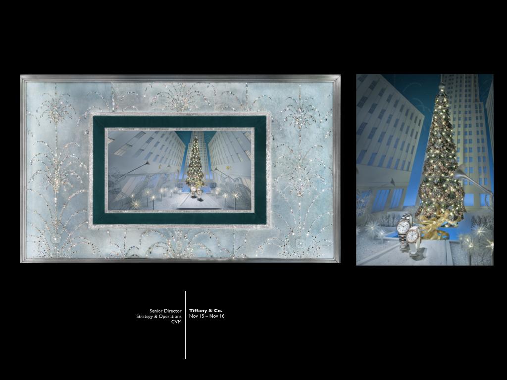 Tiffany CVM - Holiday Windows
