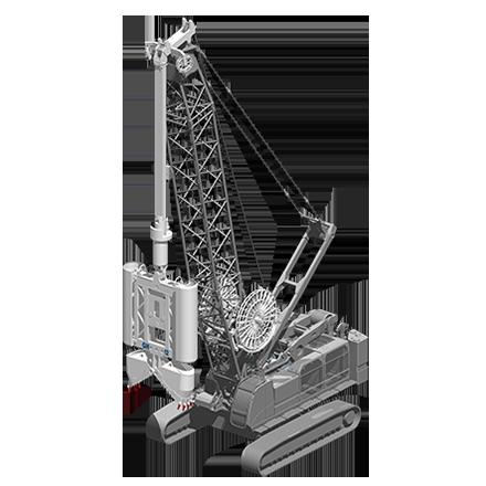 GH 12 - Profundidad máxima: 75 mRelación de excavación: 500/1200 x(ancho/largo): 2500/4200 mmPeso: 12.5 toneladas