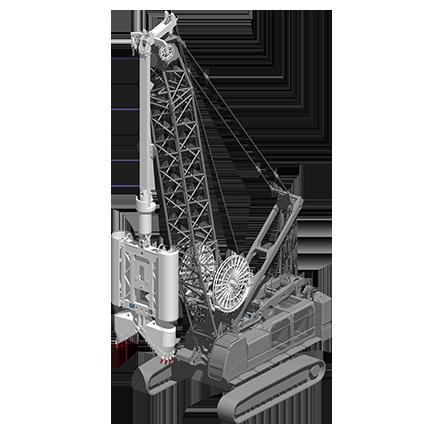 GH 15 - Profundidad máxima: 75 mRelación de excavación: 600/1500 x(ancho/largo): 2800/4200 mmPeso: 15.2 toneladas