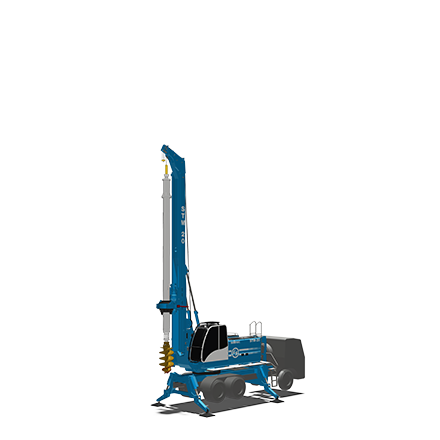STM 20 - Motor: CUMMINS QSB 6.7Potencia: 164 kW @2200rpmPeso (sin Kelly): 33 toneladasTorque máximo: 130 kNmWinche principal: 113 kNmDiámetro máximo: 1500 mmProfundidad máxima (Kelly fricción): 49m (60 con KIT especial)Profundidad máxima (Kelly bloqueo): 39m (44,5 con KIT especial)