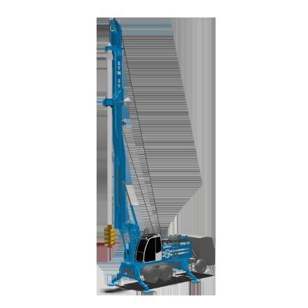 STM 30 - Motor: CUMMINS QSB 6.7Potencia: 164 kW @2200rpmPeso (sin Kelly): 33 toneladasTorque máximo: 130 kNmWinche principal: 113 kNmDiámetro máximo: 1500 mmProfundidad máxima (Kelly fricción): 49m (60 con KIT especial)Profundidad máxima (Kelly bloqueo): 39m (44,5 con KIT especial)