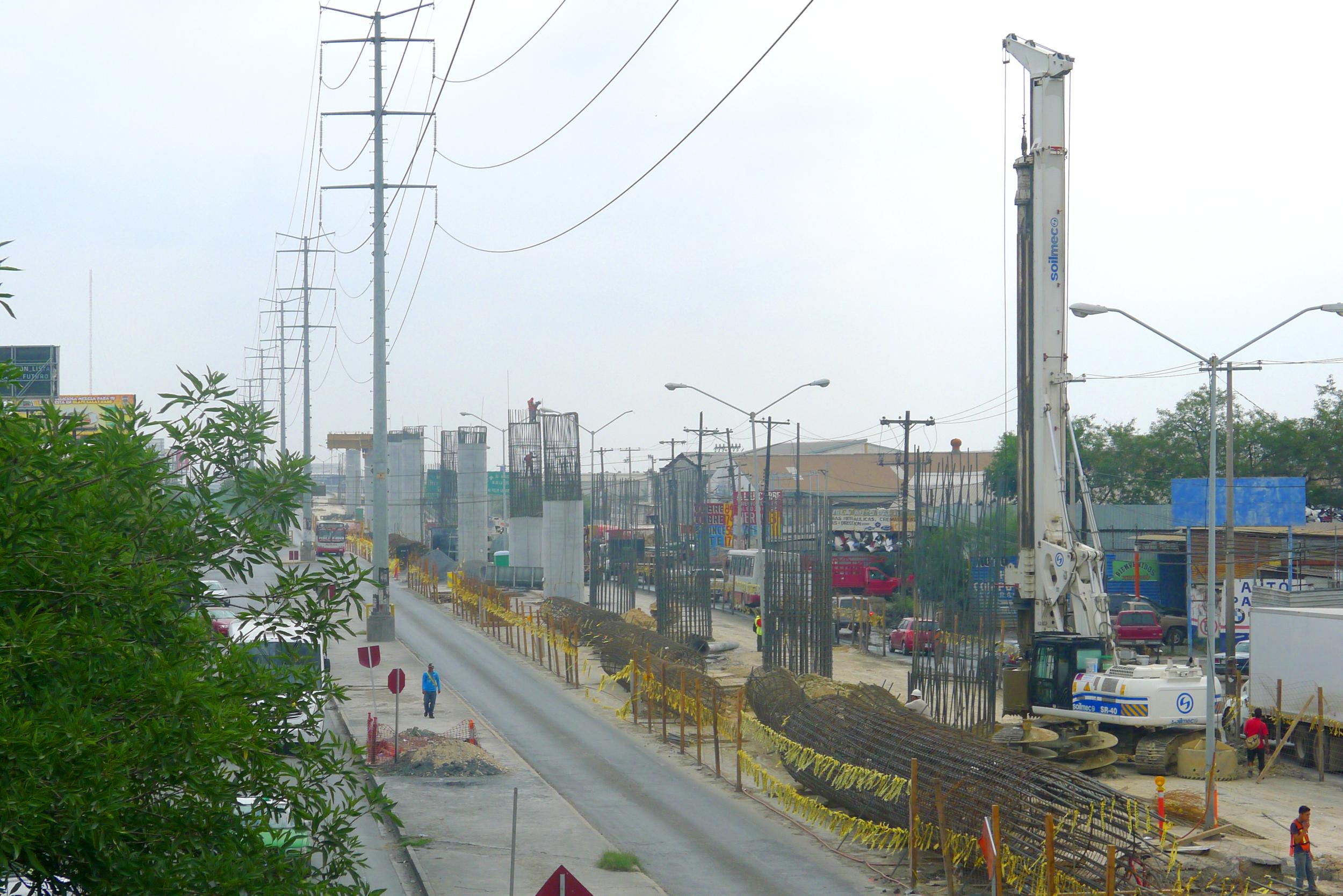 Soilmec, herramienta fundamental para la construcción del Metro en México.