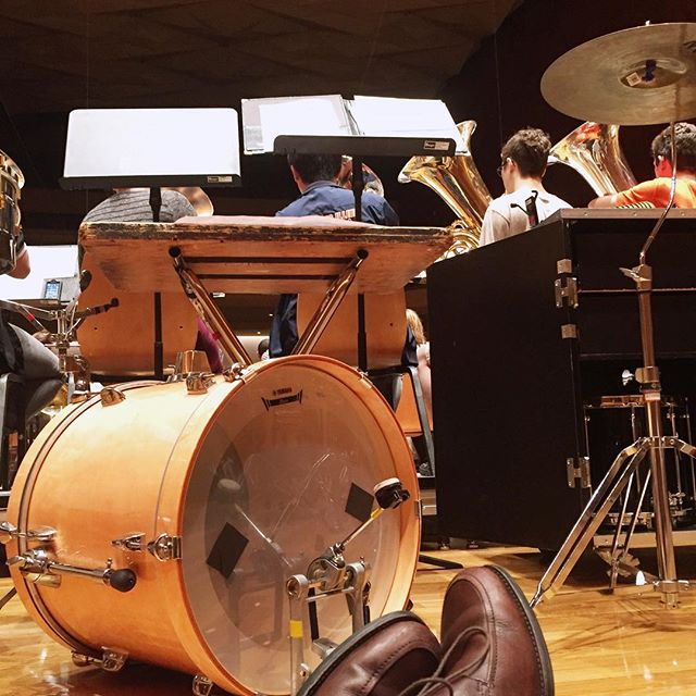 #tht#rehearsal#percussionist#music#chicago