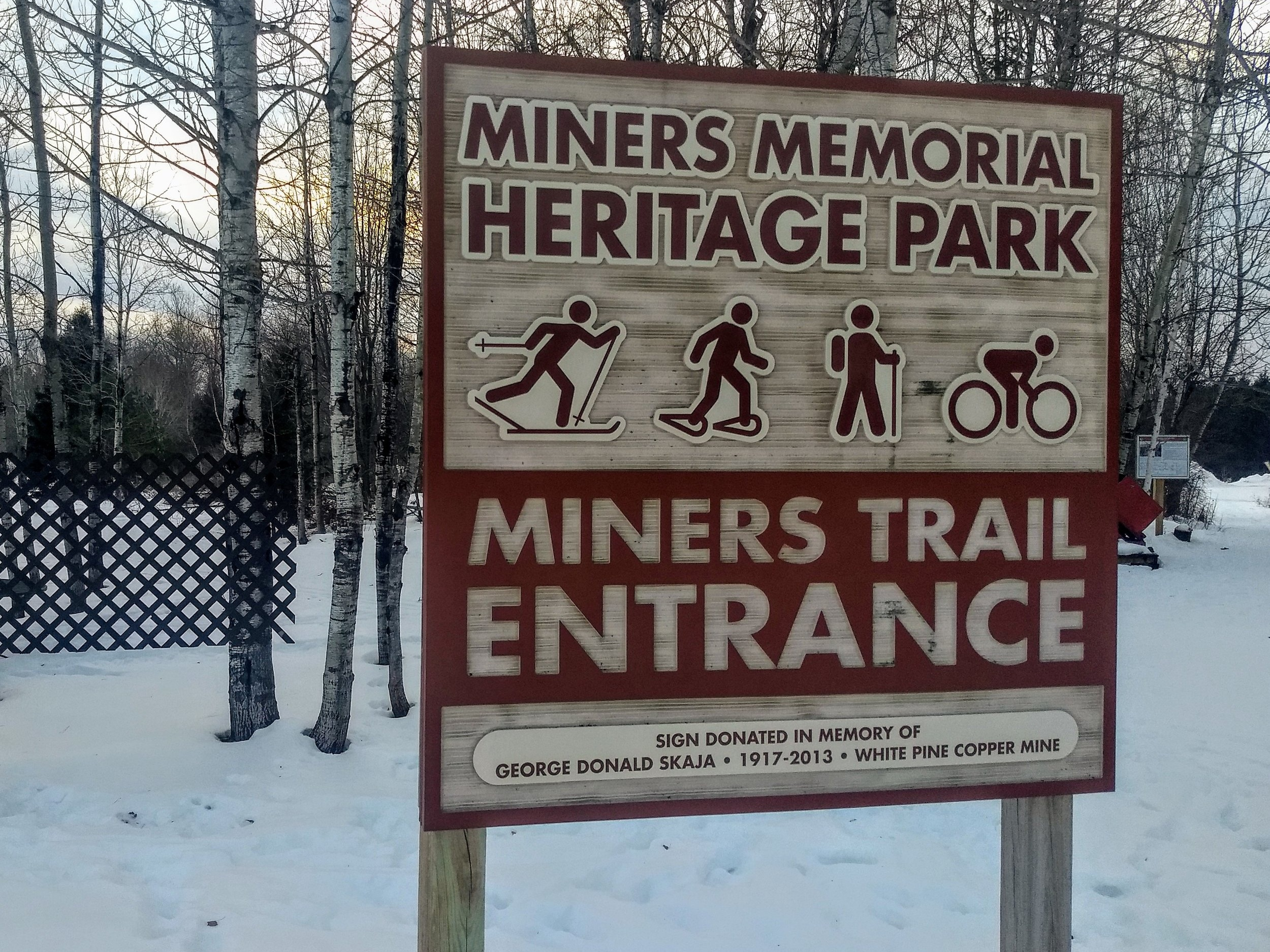 Miner's Park - COMING SOON!!!