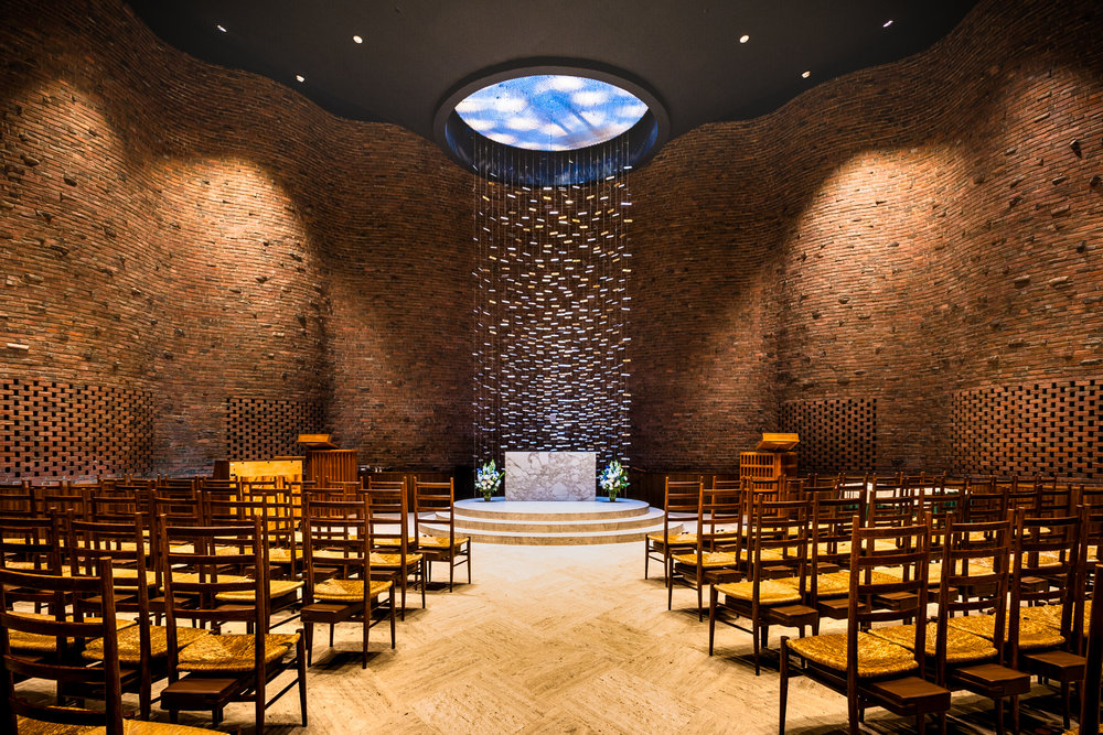 Eero Saarinen – Massachusetts Institute of Technology Chapel