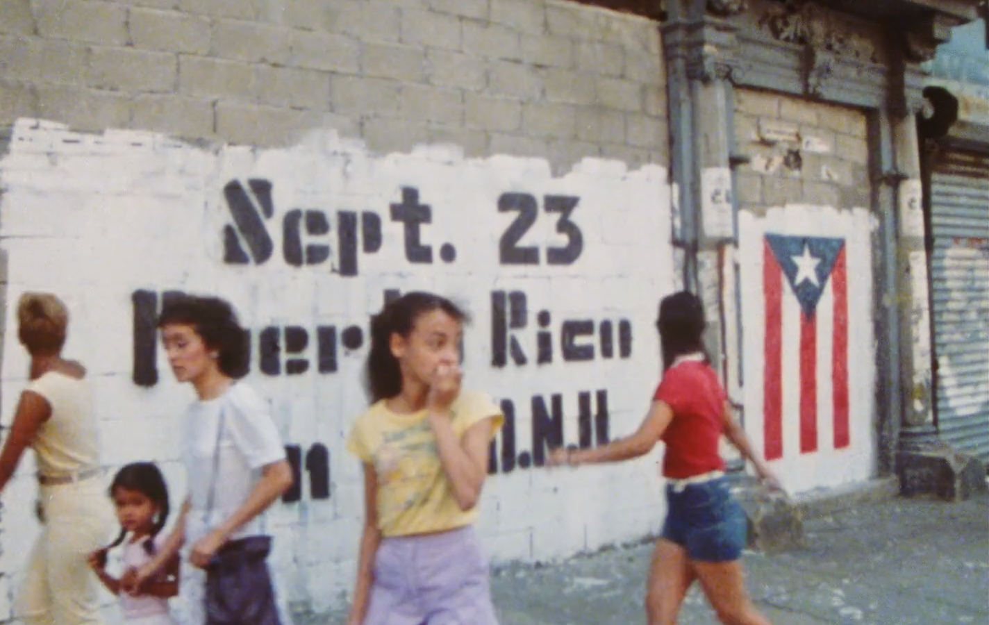 Clip from the documentary,  Los Sures, 1984.