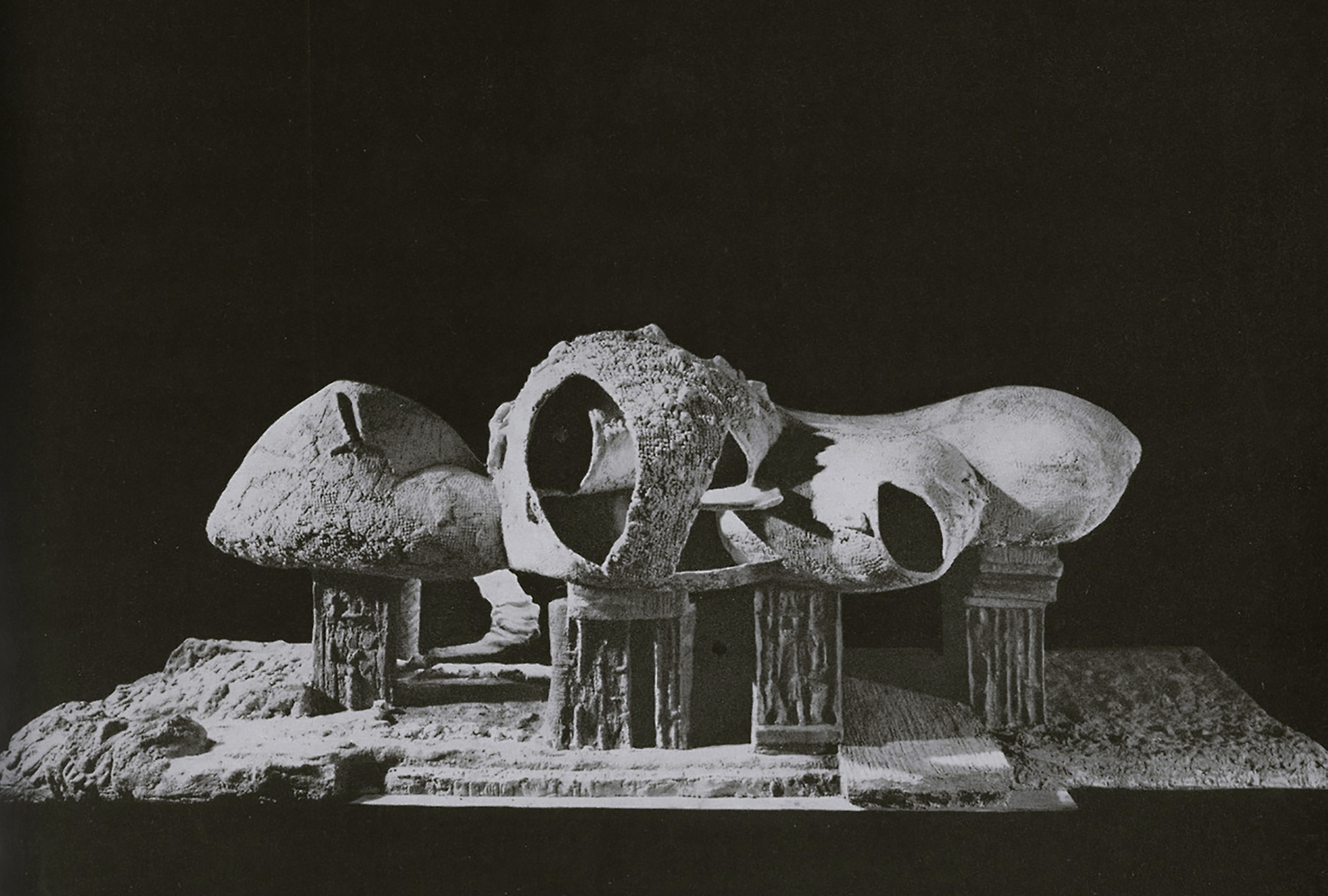 Image Source:  George Barrows, Department of Architecture and Design Study Center, MOMA