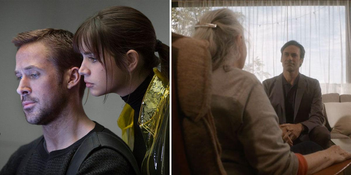 (L)  Blade Runner 2049  (2017) (R)  Marjorie Prime  (2017)