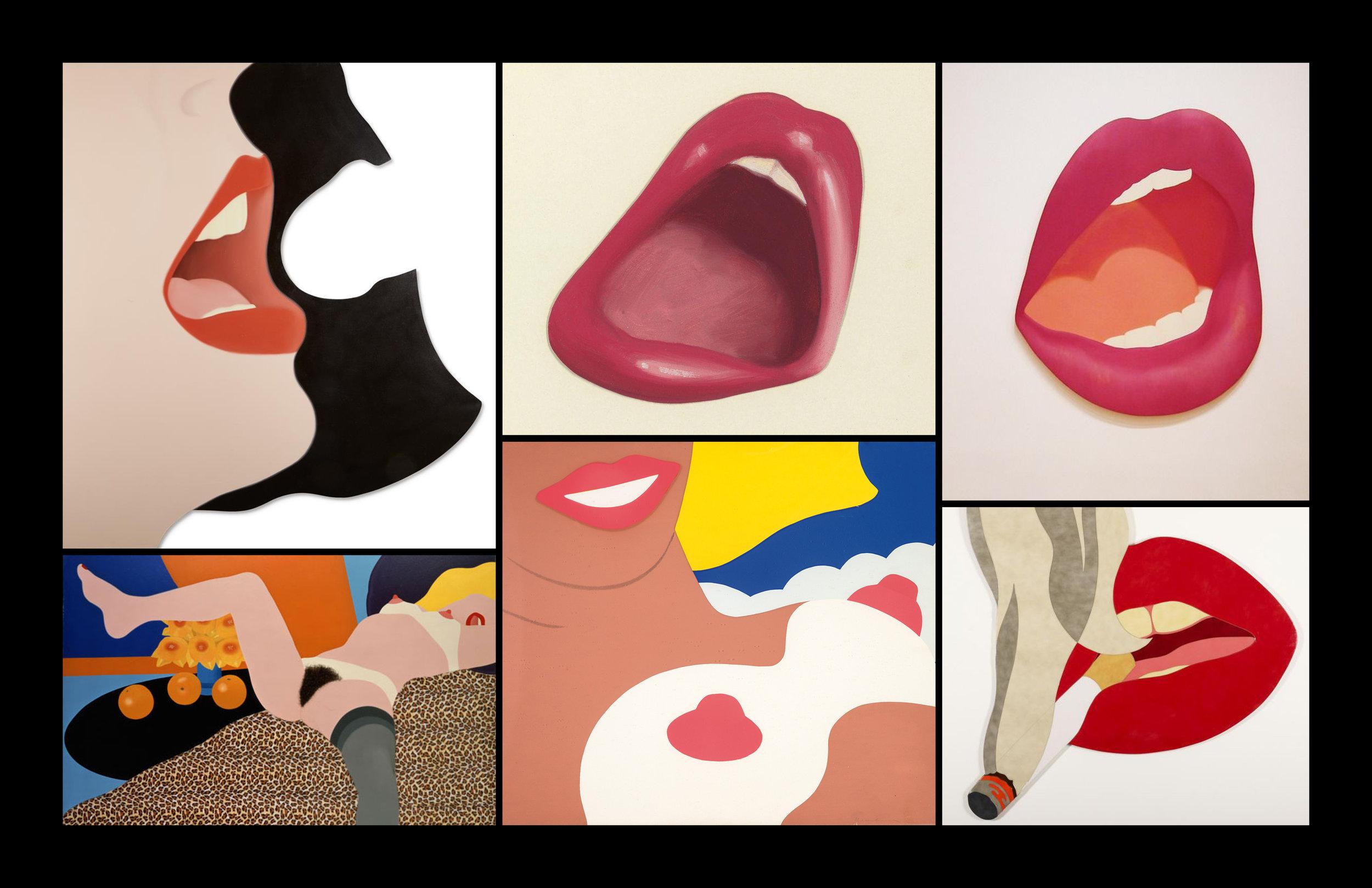 The explicit super flat pop art of Tom Wesselmann