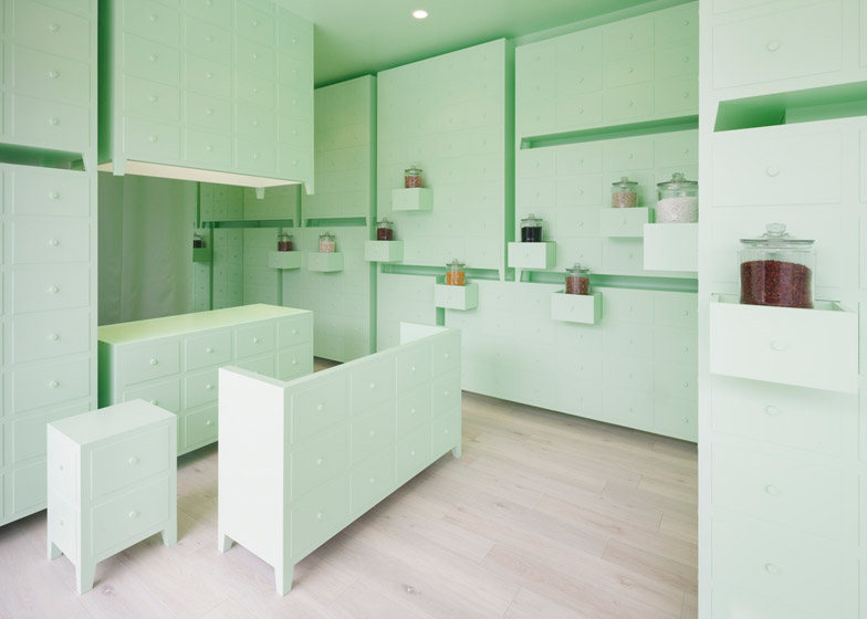 Sumiyoshido Acupuncture Clinic by Id-Inc, featured in  Dezeen