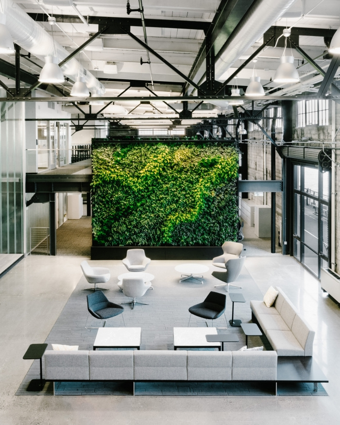 Prologis Offices, Perkins+Will. Image Courtesy:  Office Snapshots
