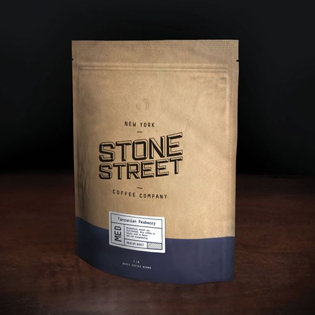 Stone Street Coffee,based in Brooklyn, artisanal quality coffee for every New Yorker.  #ICRAVEdesigned #design #branding #interiordesign #stonestreetcoffee #coffee #brooklyn