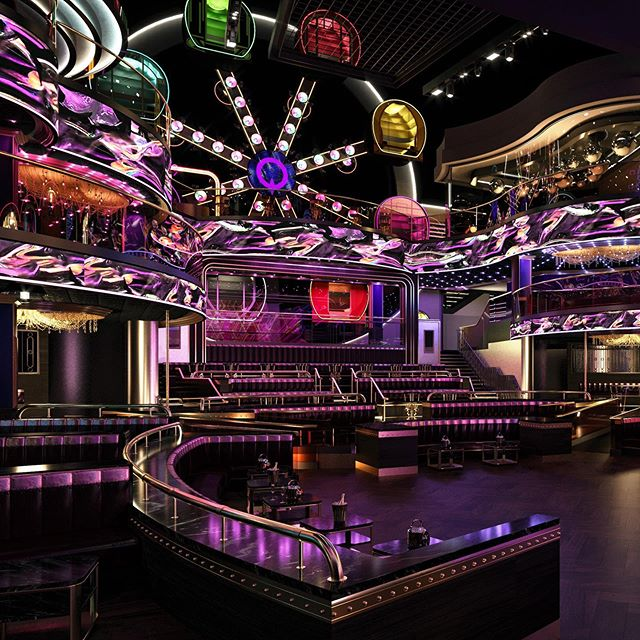 Making its debut in Asia, Marquee Singapore will be a fully immersive nightclub experience with a perfect blend of design, technology and cutting-edge sound that will span across three different floors, dramatically high ceilings that soar 70 feet and a full-sized, an eight-armed Ferris Wheel that offers unrivaled views of the nightclub when you ride in its pods.  #ICRAVEdesigned #nightclubdesign # ferriswheel #marquee #singaporenightclub #nightlife #entertainment #experiencedesign #singaporenightfestival #singaporenightlife