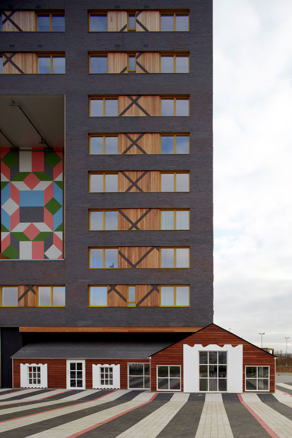 Community in a Cube by FAT in Middlesborough, England, 2012. Image Source:  FAT