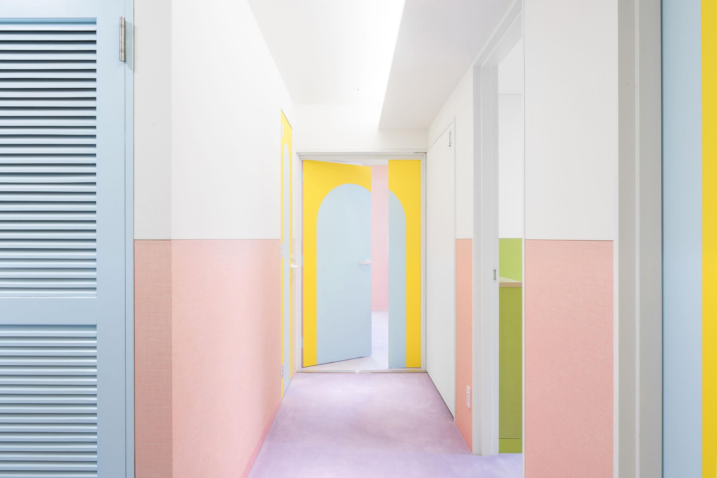 Nagatcho Apartment by Adam Nathaniel Furman in Tokyo, Japan, 2019. Image Source:  Adam Nathaniel Furman