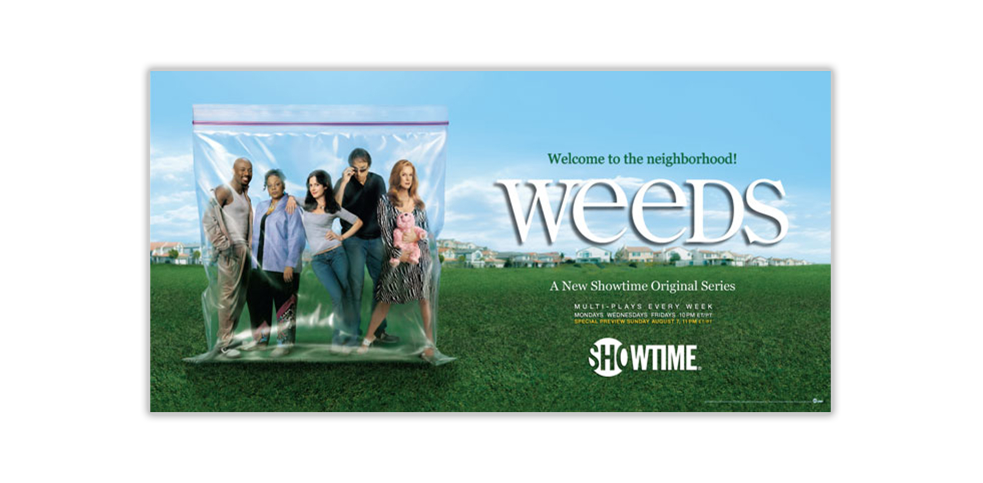 Times Square Weeds Billboard
