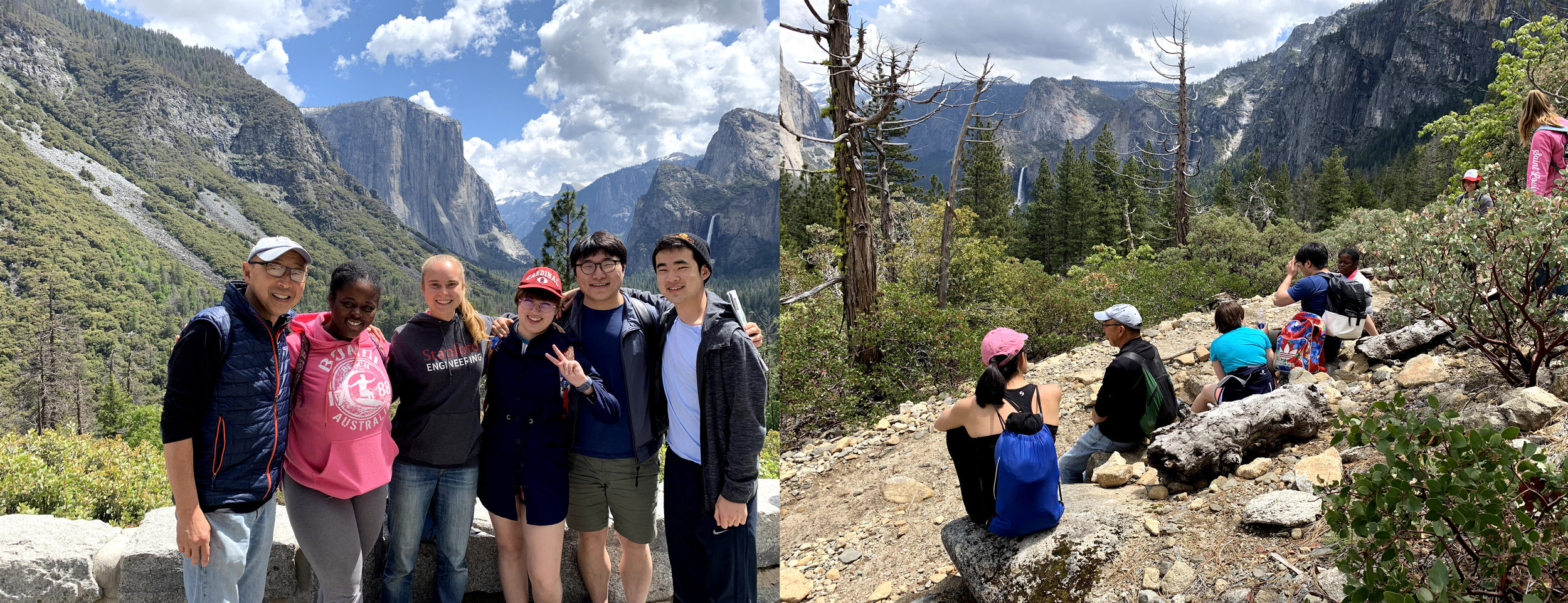 May 24th - 26th Ron, Katie and board member Kenji Hakuta hosted Stanford University EAST House students in Yosemite for a weekend trip.
