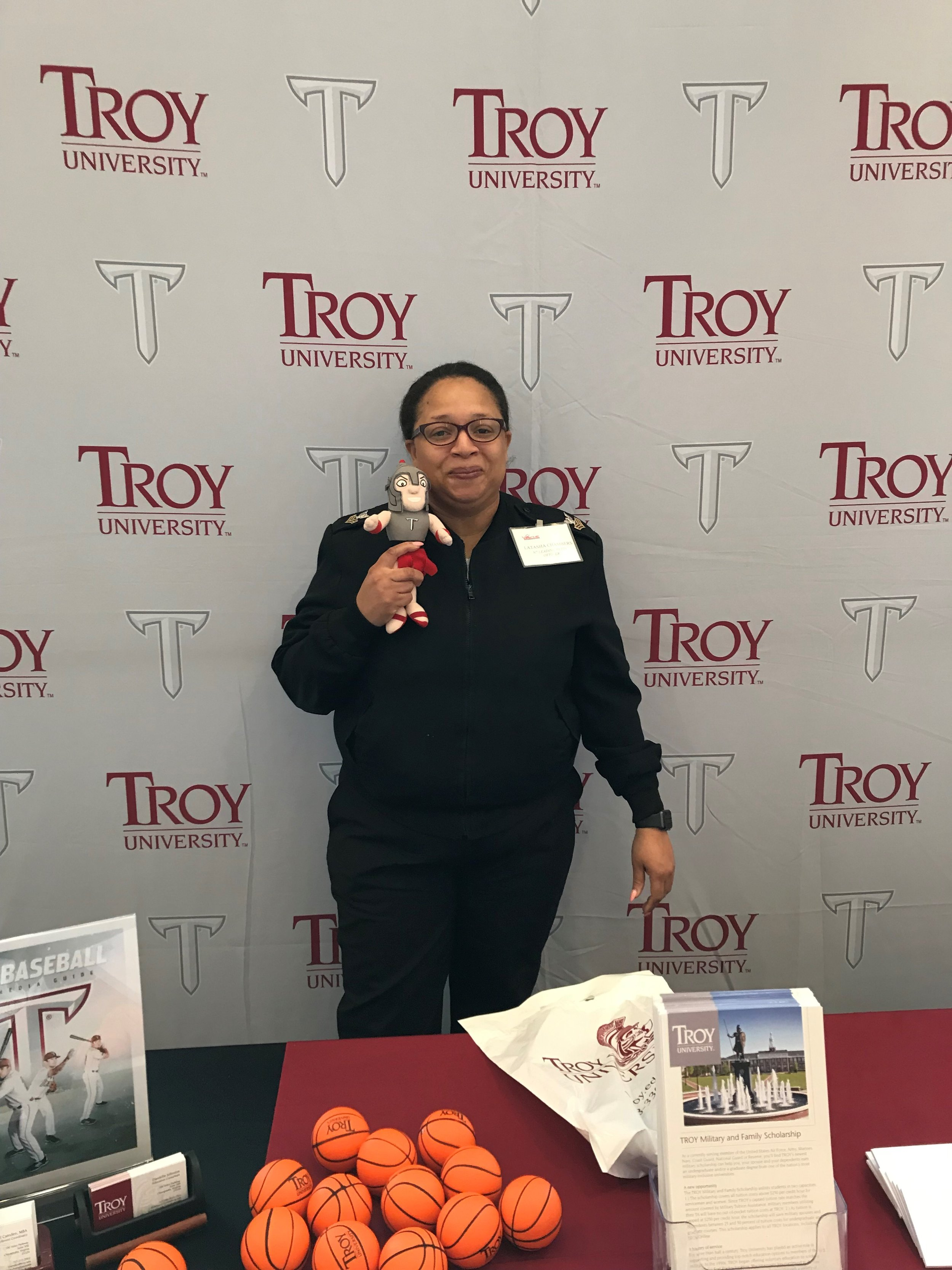 TRoy with Troy Student LaTasha Chambers at VAACME2019.jpg