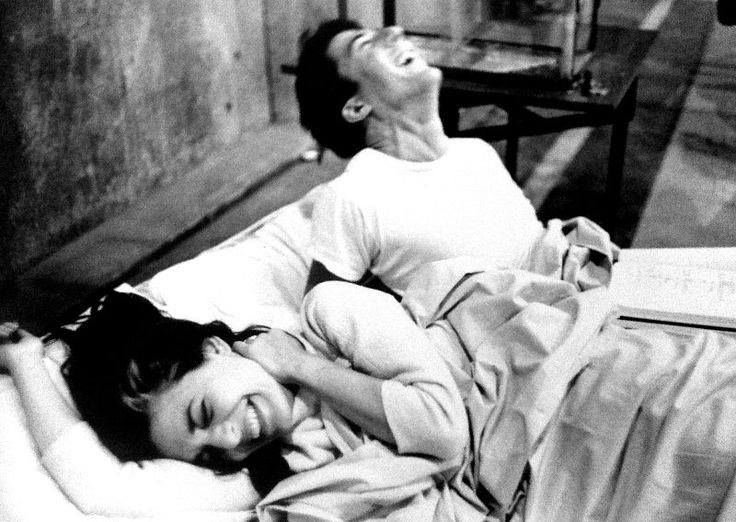 Dustin Hoffman and Anne Bancroft,  The Graduate