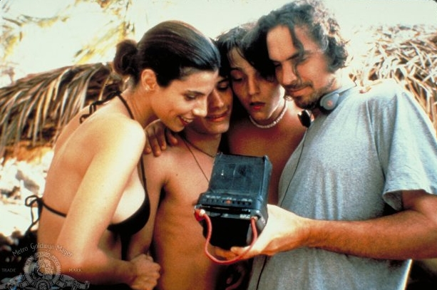 Diego Luna amazed by whatever Cuaron is showing them