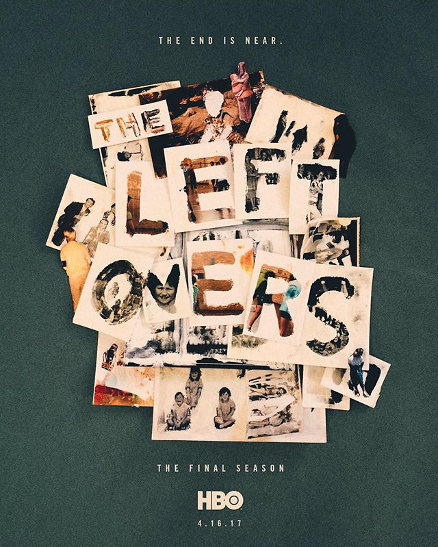 The Leftovers   poster, 2017 (student work). See how it was made  here
