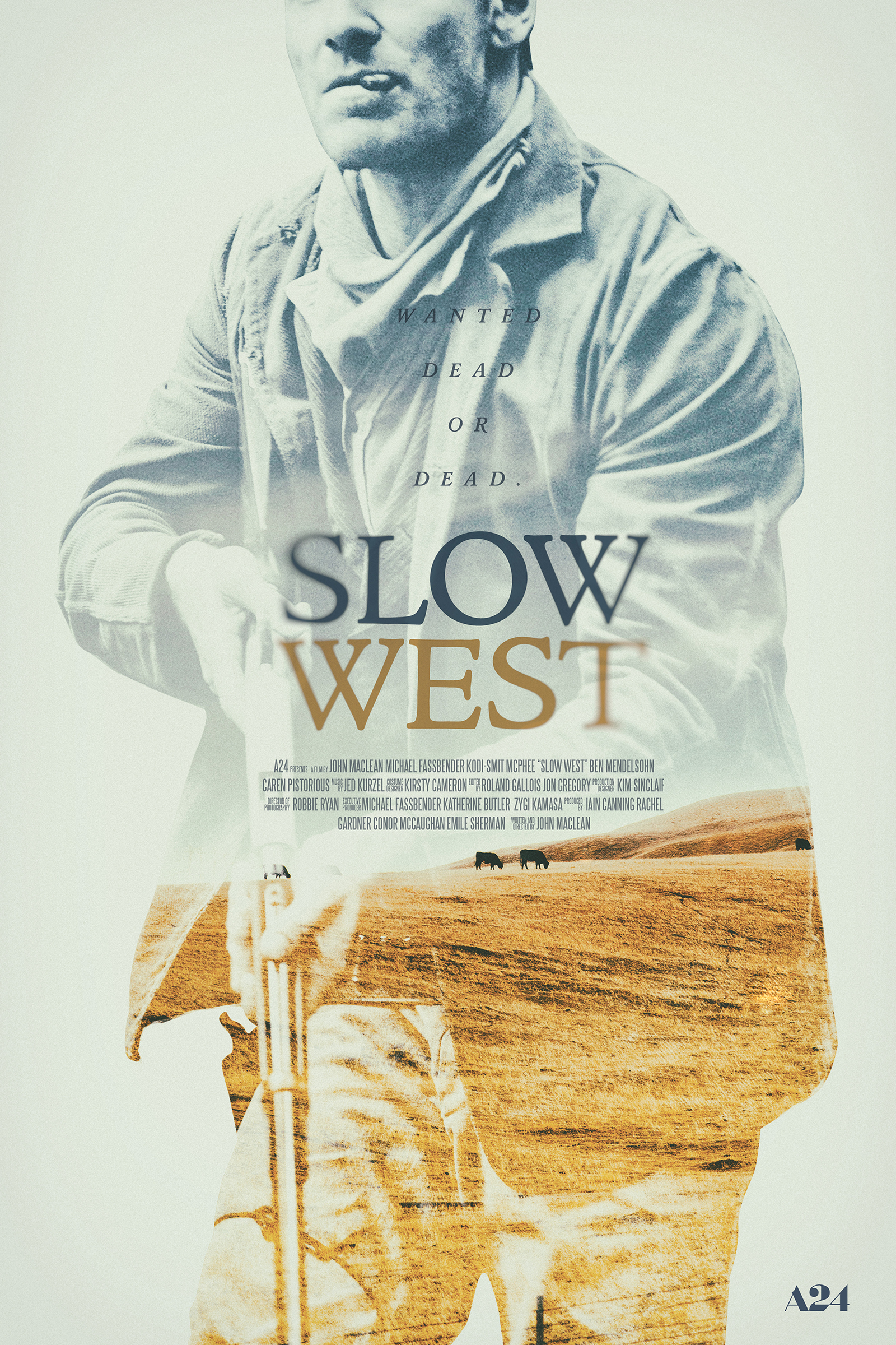 Slow West   poster, personal work, 2018