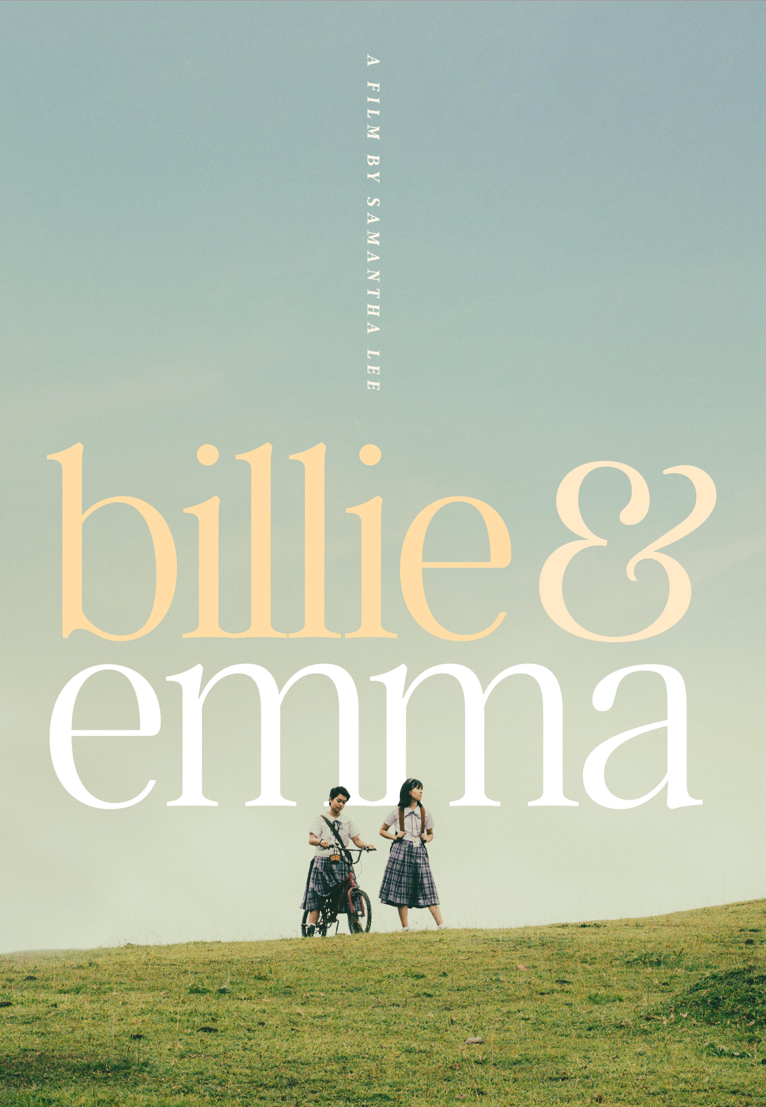 Billie & Emma   one-sheet, 2018.