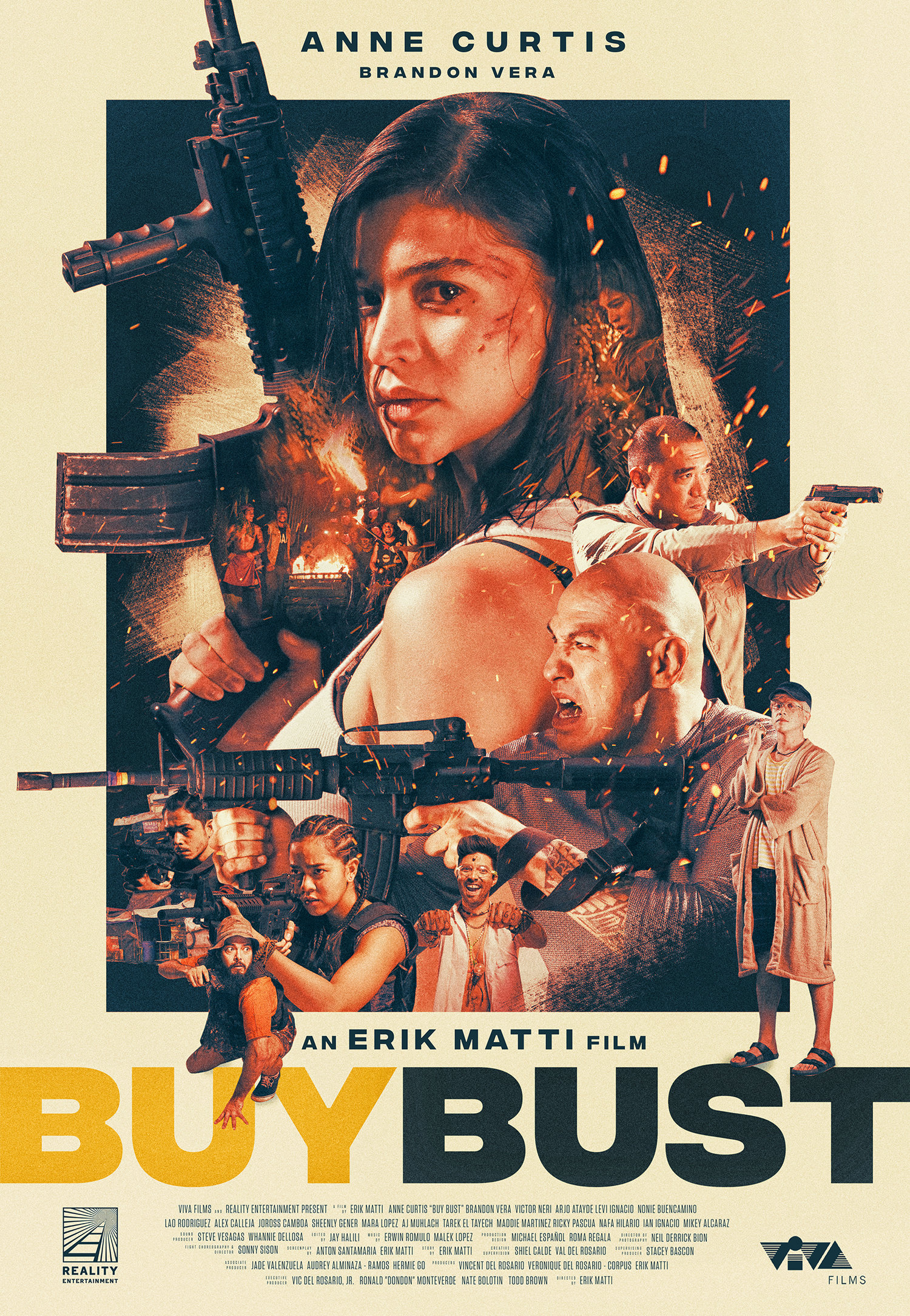 Buy Bust   official one-sheet, 2018.