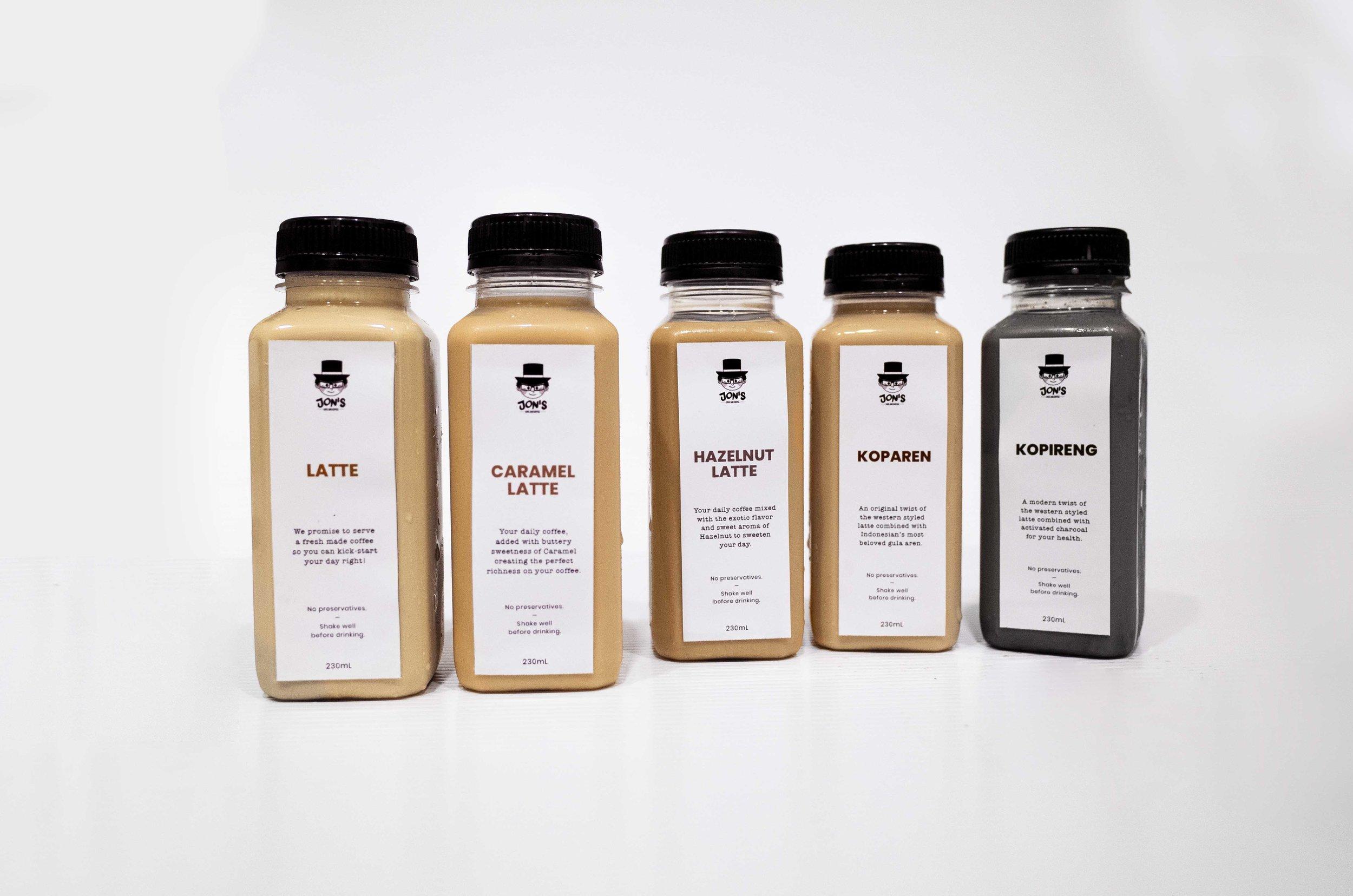 Packaging Coffee-Jon's