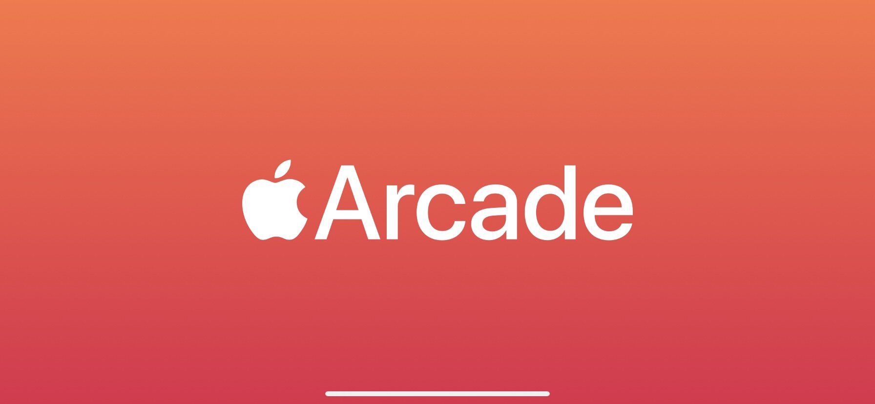 Screenshot from the first loading screen that seems to be in every Apple Arcade game.