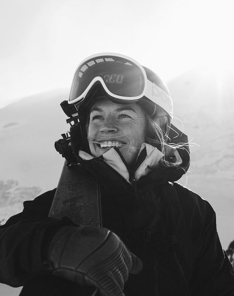 """Hedvig Wessel   """"For at jeg skal føle mestring og nå mine drømmer må jeg ut av min comfort zone. Hvis jeg kan være litt redd hver dag, da vet at jeg har gjort noe riktig."""""""