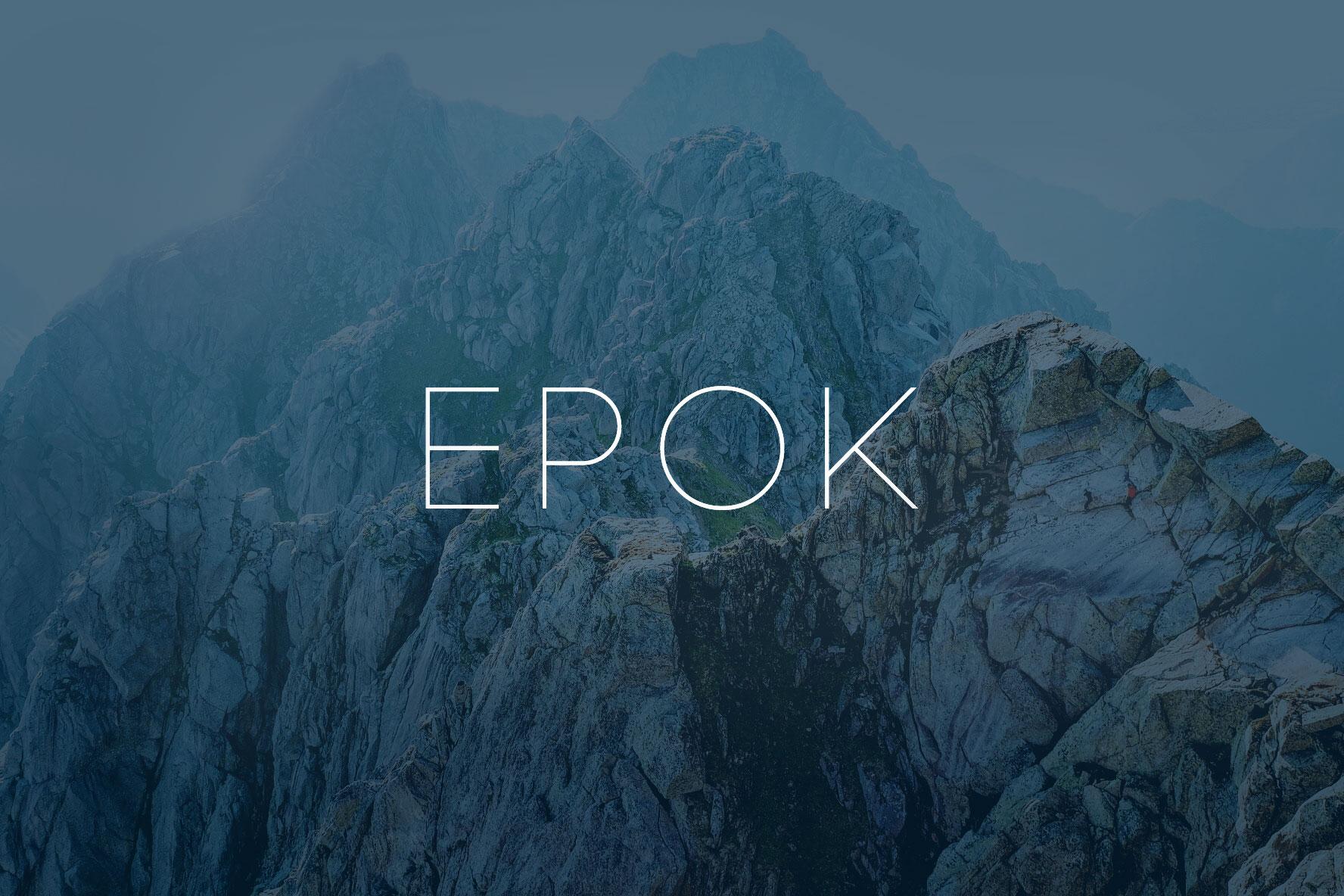 Klicka på bilden för att komma direkt till EPOKs nylanserade webbmagasin