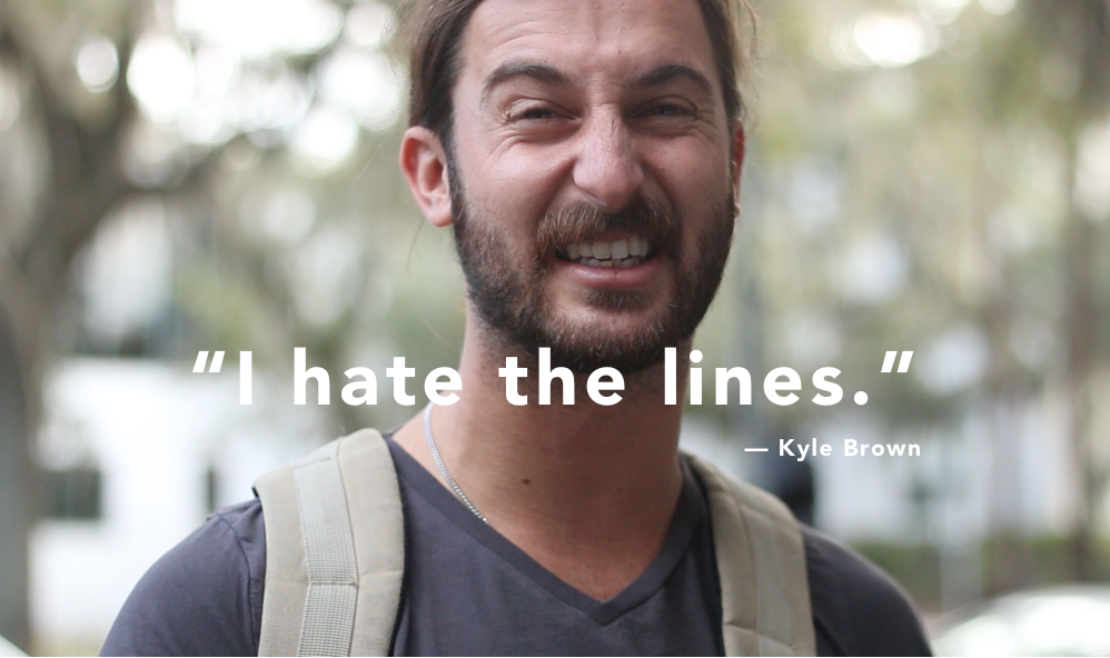 - People hate lines. A lot of effort goes into avoiding them.
