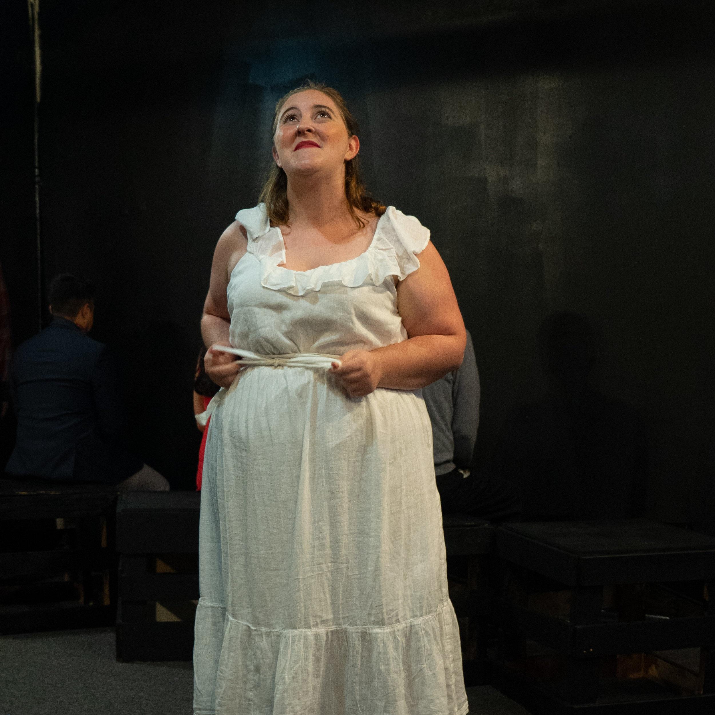 Production: Stupid Fucking Bird  Role: Nina  Bohème Ensemble