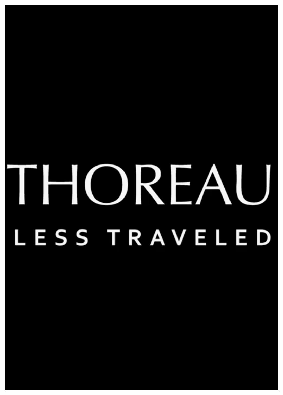 Thoreau Less Traveled