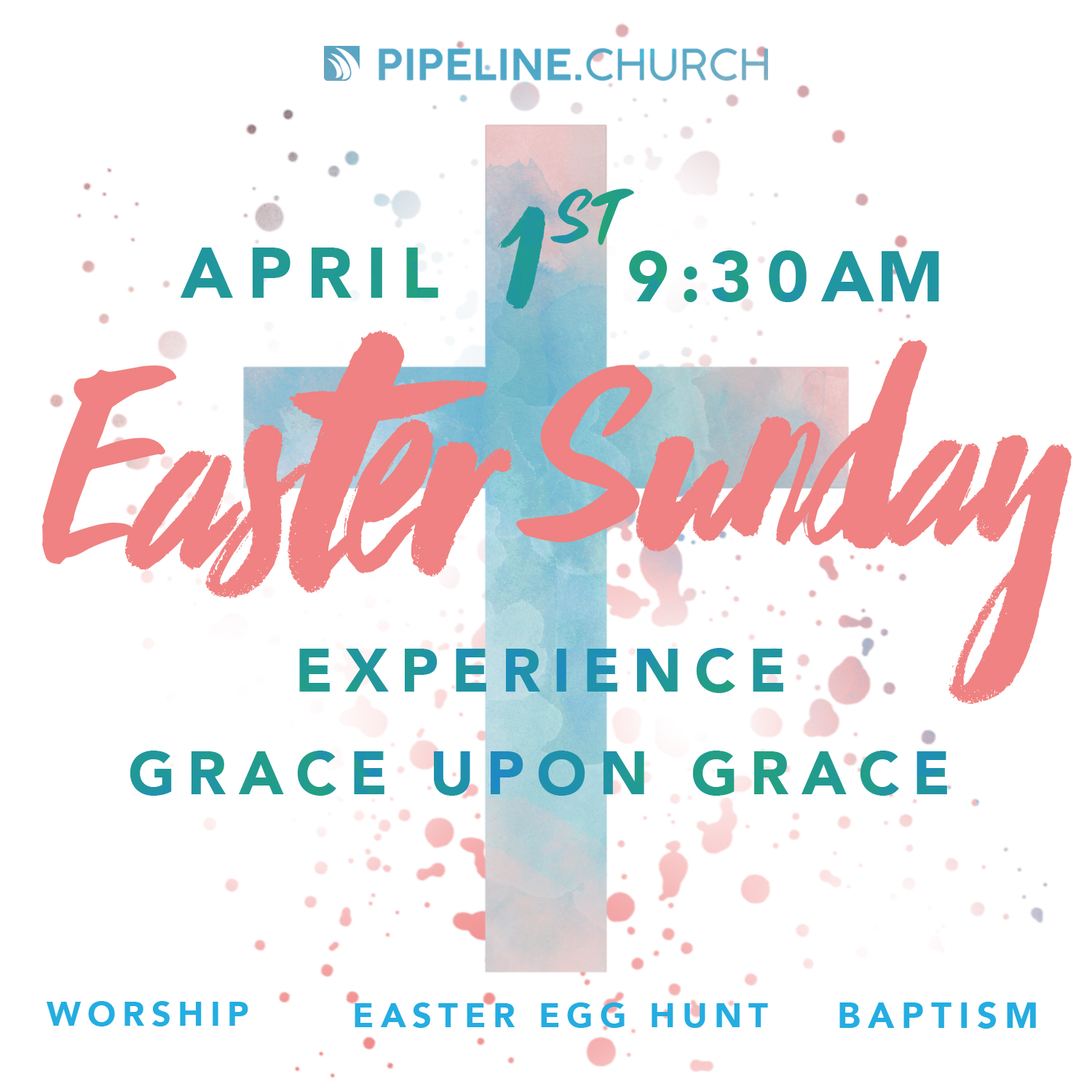 Invite someone to Easter Sunday Service! In order to send this to a friend or family member, save the image and pass it on!